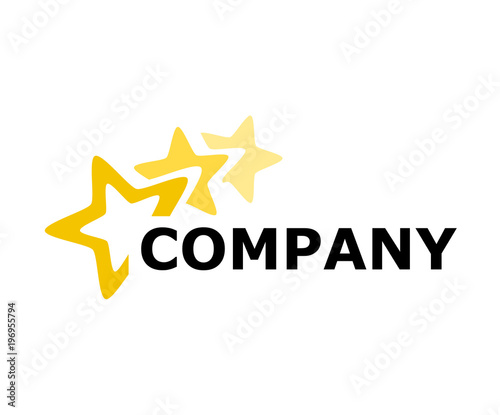 Obraz star logo design 3 - fototapety do salonu