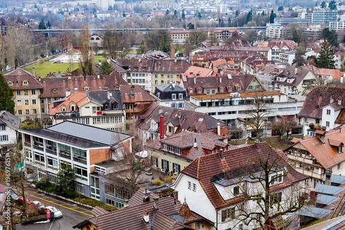 Panorama of Bern, Switzerland Canvas