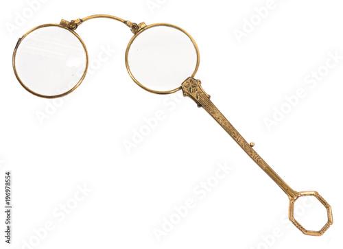 alte brille, monokel, lorgnon, klappbrille