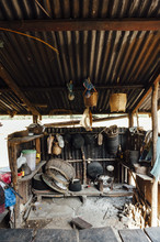 Typical Lao Kitchen