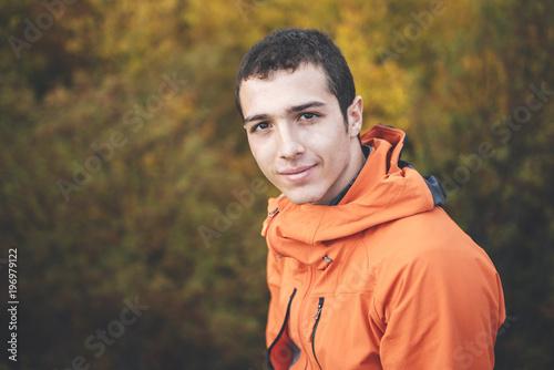 Portrait of young man, Segovia, Spain