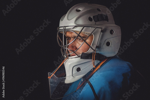 Fotografía Hockey goalie in the mask