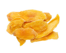Dehydrated Mango Isolated On W...