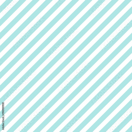 Fotografía  Abstract Seamless blue, white striped background Vector