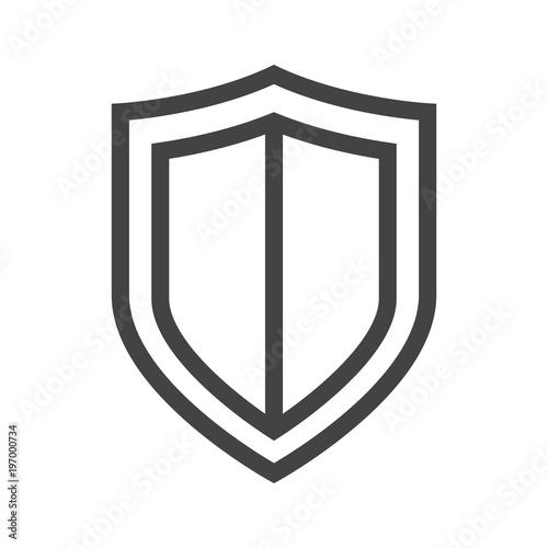 Obraz na plátně Vector shield icon