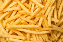 French Fries Texture - Top-down View