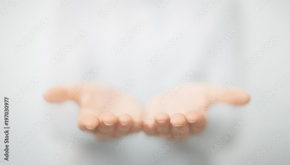 Fototapety, obrazy: Mani di uomo