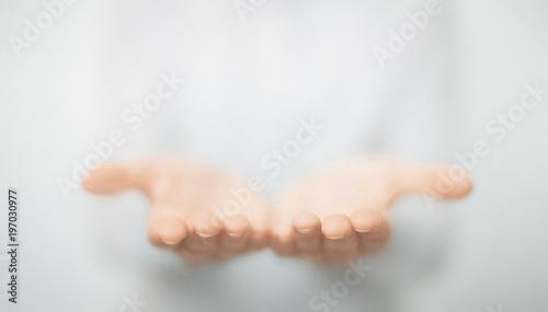Obraz Mani di uomo - fototapety do salonu