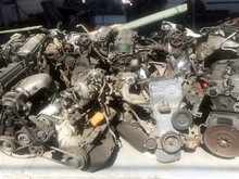 Many Old Used Car Engine And Parts