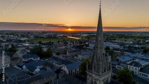 Foto op Aluminium Nachtblauw Cloché de Normandie