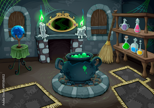 Papiers peints Chambre d enfant The witch room