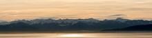 Panorama Des Schweizer Ufers Des Bodensees