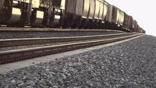 Slow Moving Train