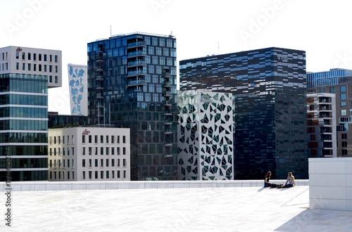 Photo  Oslo skyline