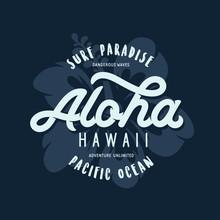 Aloha Hawaii Floral T-shirt Pr...