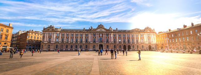 Place du Capitole à Toulouse en Haute-Garonne, Occitanie en France