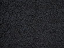 Close-up Dark Gray Wool Textur...