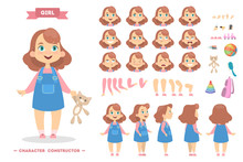 Girl Character Set.