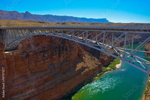 Poster Afrique du Sud Colorado River Bridge Arizona