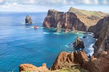 North Coast Of Ponta De Sao Lourenco, Madeira, Portugal