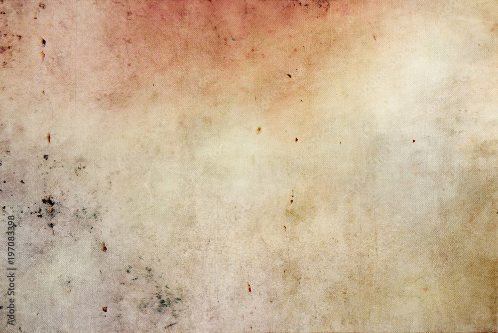 Fototapety, obrazy: Old canvas retro texture background