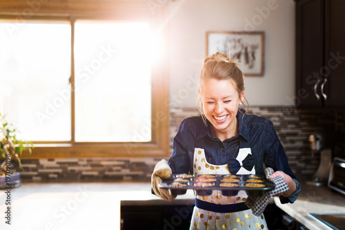 Fotomural Happy baking experience