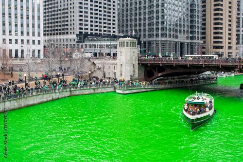 Poster Chicago St. Patricks Day Chicago