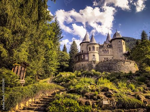 Castel Savoia, Gressoney-Saint-Jean (Valle d'Aosta, Italy) Canvas