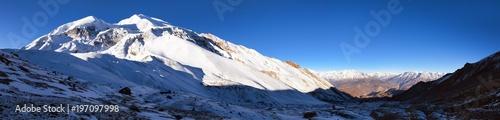 Fényképezés  Annapurna Himal, panoramic view from Thorung La
