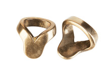 Two Vintage Brass Rings For Na...