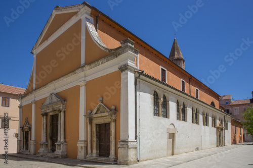 Saint Simeon church, Zadar, Croatia. Fototapet