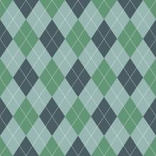 Seamless Argyle Pattern. Retro...