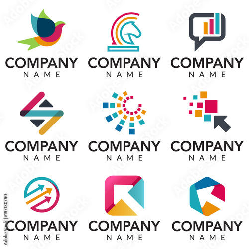 digital marketing vector logo icon illustration collection buy this stock vector and explore similar vectors at adobe stock adobe stock digital marketing vector logo icon