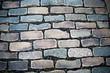 A cobblestone background