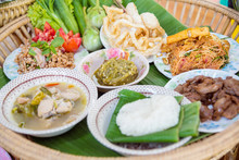 Northern Style Food Of Thailand