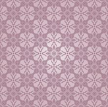 Seamless Damask Vector Floral Wallpaper