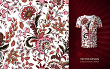 Seamless Floral Background. Fa...