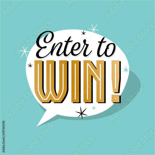Fotografía  Enter to win !