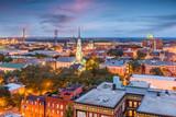 Fototapeta Sawanna - Savannah, Georgia, USA Skyline