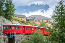 Montenvers Touristic Red Train...