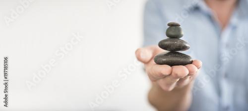 Fotografia Find Balance