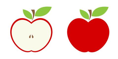 Jabłko ilustracja wektorowa