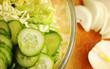 Tasty fresh salad