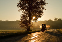 Amish Horse And Buggy.  Amish ...