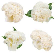 Fresh Cauliflower Isolated On ...