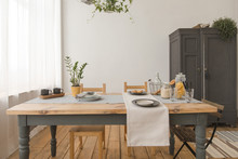 Dining Wooden Table And Chairs...