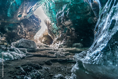 Fotografering Ice cave in Iceland