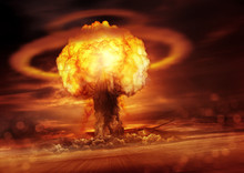 A Nuclear Bomb Explosion Causi...