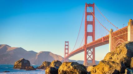 San Francisco Beach View W Golden Hour