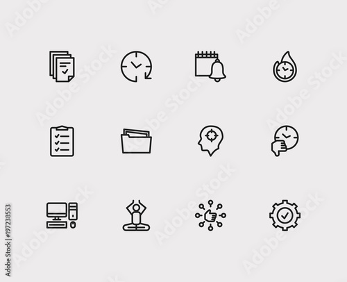 to do list and task icons with capability group tasks